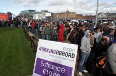 Working Abroad Expo shuts doors early due to crowds