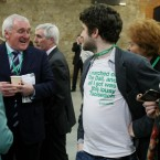 We're not sure which Taoiseach comedian Abie Philbin Bowman's t-shirt refers to.