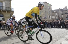 Meersman takes stage, but Wiggins retains lead