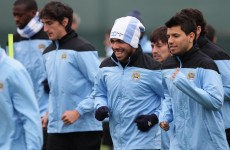 Tevez set to return for City against Chelsea