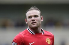 Off target: Rooney breaks nine-year-old's wrist with wayward shot