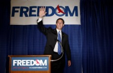 Santorum turns on reporter: 'Would you guys quit distorting what I am saying?'