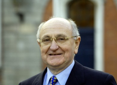 Gerry Collins served as Minister for Justice during 1977 and 1981, and again between 1987 and 1989.