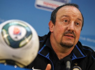 Benitez has been out of a job since departing from Inter Milan. 