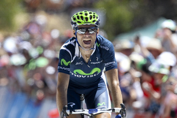 Alejandro Valverde from  Spain wins stag