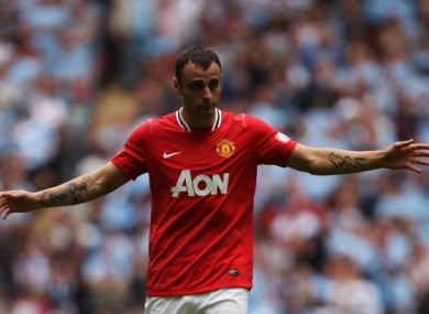 Dimitar Berbatov: wants first-team football.