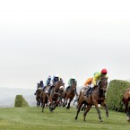 Runners and riders in the Glenfarclas Handicap Steele Chase.