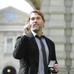 Seann William Scott makes a comeback to some jibes (Picture: Sasko Lazarov / Photocall Ireland)