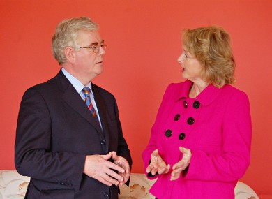 Nessa Childers MEP with Labour Party leader Eamon Gilmore