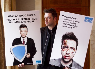 Mark Feehily pictured at the Westbury Hotel for the launch of the ISPCC campaign
