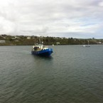 Anne Ferguson said the weather was nice in Kinsale at around 6pm.