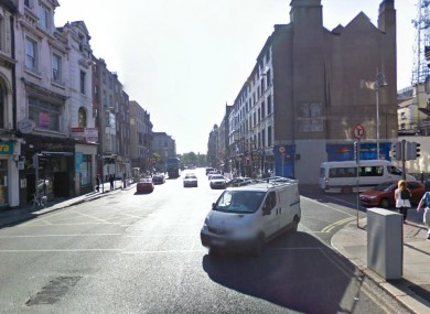 Dame Street in Dublin (File photo)