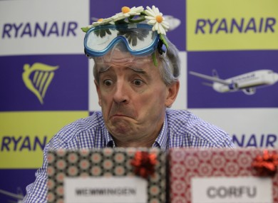 Cheer up Michael O'Leary
