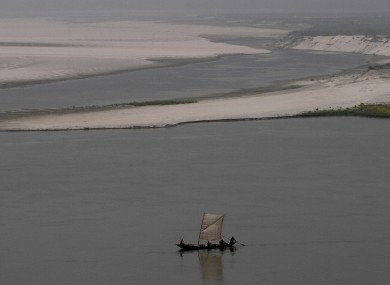 File photo of the river Brahmaputra, where the accident occurred 