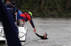 VIDEO: Protester disrupts Boat Race