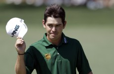 In the swing: Oosthuizen shows post-Masters mettle