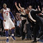 Carmelo Anthony and Amar'e Stoudemire will be fine. The key for the Knicks will be consistency on defense. Interim head coach Mike Woodson has been able to make this team think defense first and it's really payed off so far.