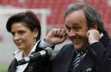Sure thing, Michel: Platini wants Poland to replace all of their Euro 2012 pitches