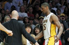 Magnificent seven game suspension for Metta World Peace