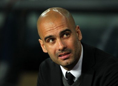 Guardiola is likely to face renewed speculation surrounding his future after tonight's game.