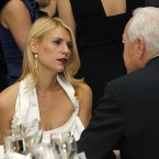 Claire Danes attends the White House Correspondents' Association Dinner. (AP Photo/Haraz N. Ghanbari)