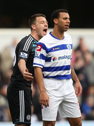 John Terry and Anton Ferdinand will be in action on Sunday.