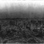 The city in ruins in the wake of the earthquake and fire. (Library of Congress, Prints & Photographs Division)