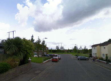 General view of the Glasvey Rise area in Dunmurry