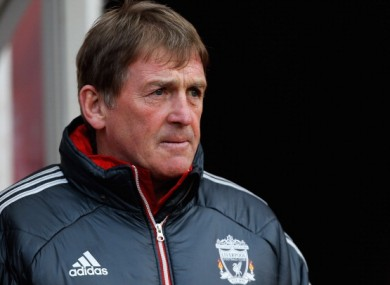 Kenny Dalglish: preparing for Chelsea on Saturday in London.