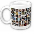 Keep your Facebook friends close - put them on your mug so they can be with you always. (Via crowdedink.com)