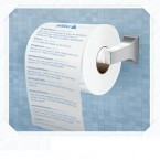 Twitter loo roll- because everyone likes something to read in the bathroom. (Via www.getshitter.com)