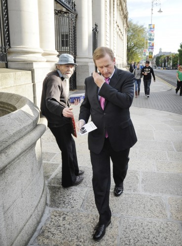 22/05/12 Cabinet meeting. An Taoiseach Enda Kenny
