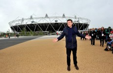 Where did I park that stadium? Olympic venue gets test run