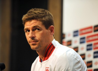 Gerrard will captain England at Euro 2012.