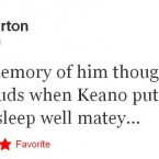 Joey Barton fondly recalls Roy Keane's infamous confrontation with Alan Shearer.
