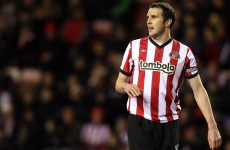 Phew! Sunderland give O'Shea the all-clear after having scan