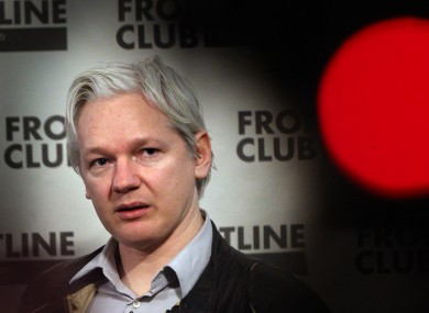 Julian Assange speaking in London in February: the WikiLeaks founder this morning lost an appeal against an extradition warrant to Sweden.
