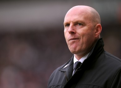 Going nowhere: Blackburn Rovers manager Steve Kean.