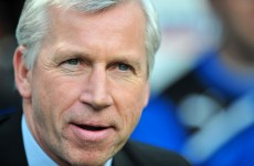 Pardew: I let the team down with Wigan washout