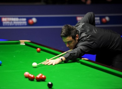 O'Sullivan will meet Matthew Stevens in the semi-finals.