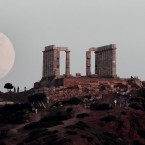 Temple of Poseidon, south east of Athens, Greece (AP Photo/Dimitri Messinis)
