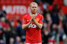 'He knew he had made a mistake': United confirm new Scholes deal