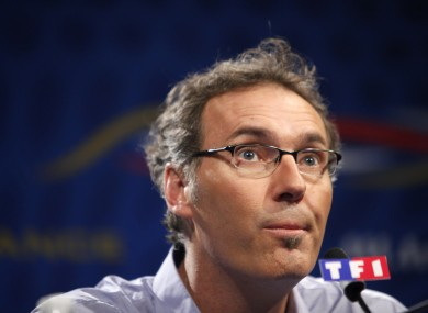 French coach Laurent Blanc believes he has England's tactics figured out.