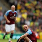 Aston Villa's Stephen Ireland sits dejected - Stephen Pond/EMPICS Sport