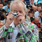 Actor Bill Murray poses during a photo call for Moonrise Kingdom at the 65th international film festival in Cannes. (AP Photo/Joel Ryan)
