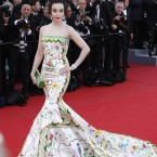 Actress Fan Bing Bing attends the opening ceremony and 