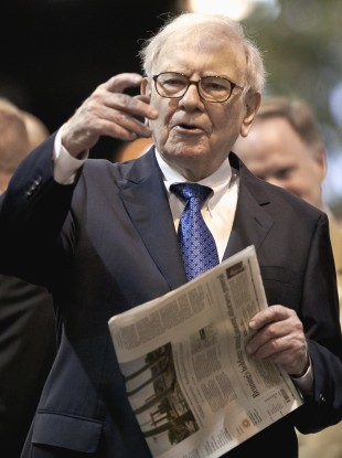 Warren Buffett, newspaper man
