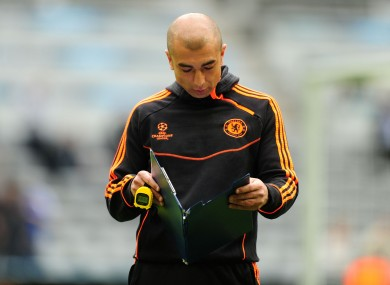 Roberto di MAtteo: caretaker at Stamford Bridge.