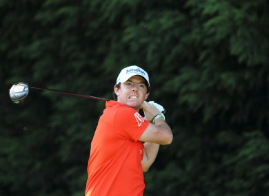 McIlroy endured a disappointing day at Wentworth.
