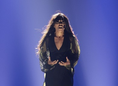 Sweden's Loreen was a runaway winner with her song 'Euphoria'.